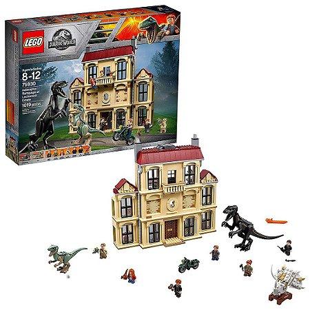 75930 - Lego Jurassic World Indoraptor Em Fúria No Estado