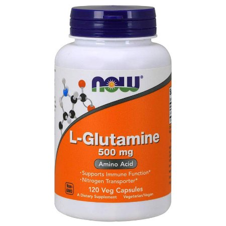 L-Glutamina Now 500mg (120 Cápsulas)