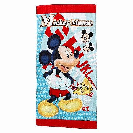 Toalha De Banho Mickey Mouse Felpuda Infantil Personagens