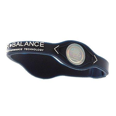 Pulseira Power Balance Azul Escuro Tamanho M