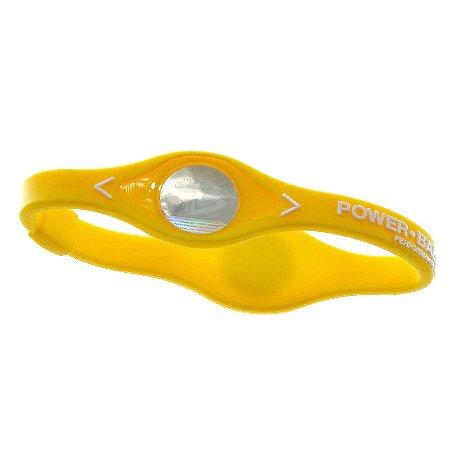 Pulseira Power Balance Amarela Tamanho G