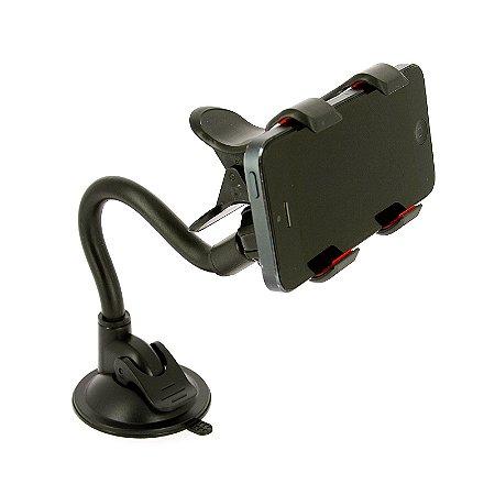 Suporte Veicular Universal Automotivo Celular Gps c/ Ventosa