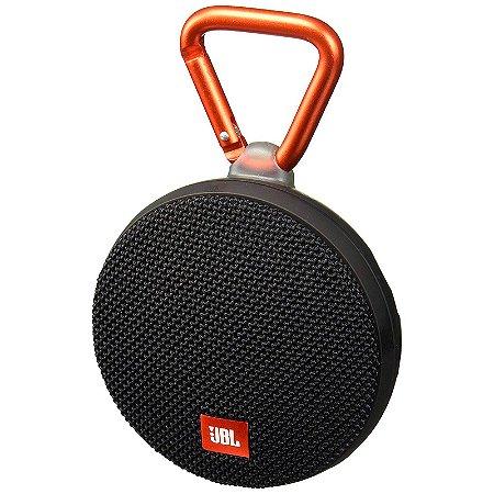 Caixa de Som Bluetooth JBL Speaker Portátil Clip 2 Preto