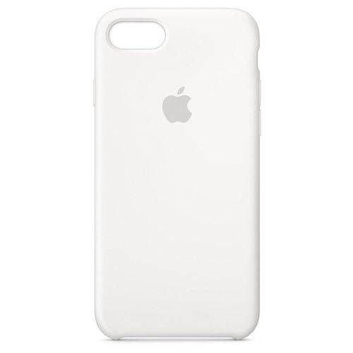 Capa para iPhone 8 ou 7 Silicone Apple Branco