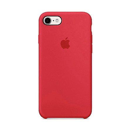 Capa para iPhone 6 e 6s Silicone Case Apple Cereja