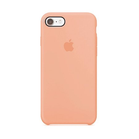 Capa para iPhone 6 e 6s Silicone Case Apple Salmão