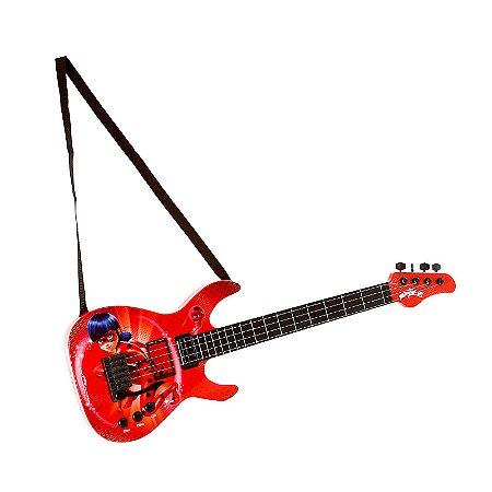 Guitarra Infantil - Miraculous - Ladybug - Fun