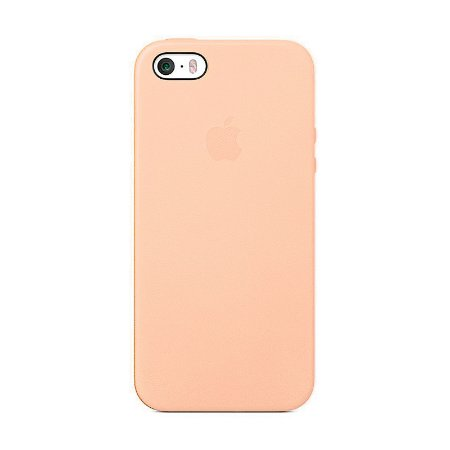 Capa Iphone SE Silicone Case Apple Rosa