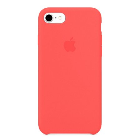 Capa Iphone 7/8 Silicone Case Apple Pink