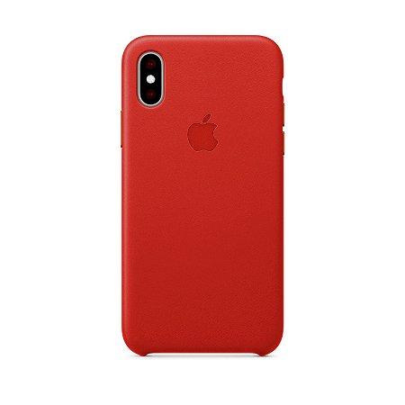 Capa Iphone XR Silicone Case Apple Cereja