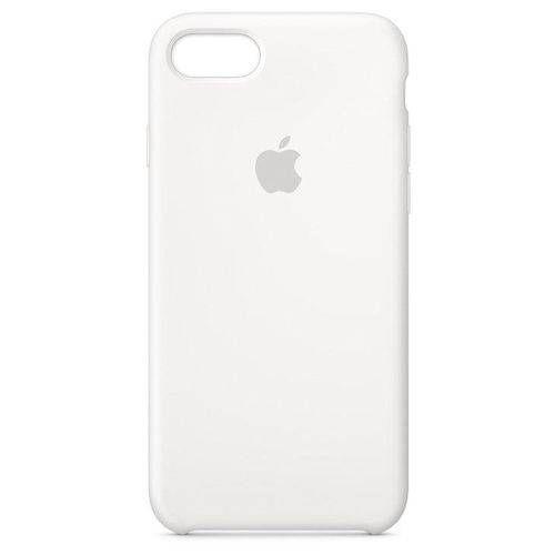 Capa para iPhone 8 ou 7 Silicone Apple Branco
