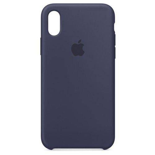 Capa para iPhone X, Azul, Silicone, Apple