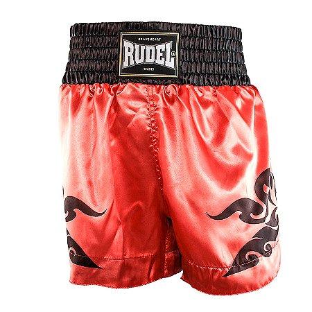 Shorts de Muay Thai Cetim MT12 Corner Mellon Rudel Sports Tamanho P