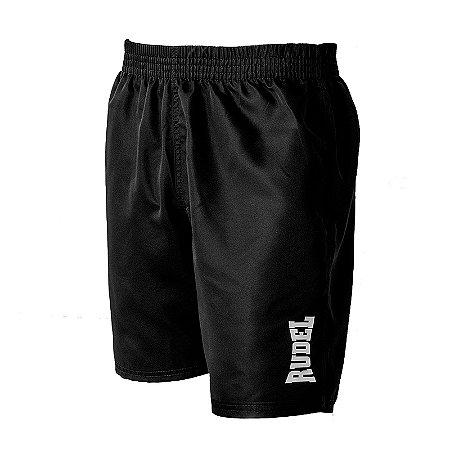 Shorts Masculino Fitness II Preto Rudel Sports Tamanho P