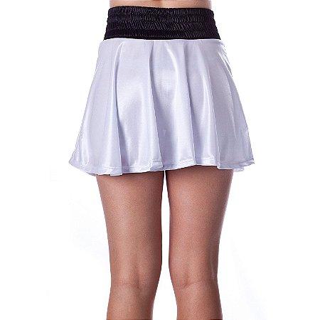 Shorts Saia Diva Branco Rudel Sports Tamanho GG