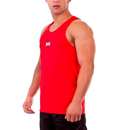 Camiseta Regata Dry I Vermelho Rudel Sports Tamanho G