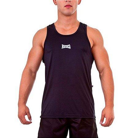 Camiseta Regata Dry I Preto Rudel Sports Tamanho P