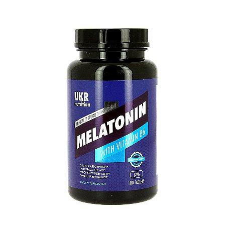 Melatonina Com vitamina B6 3mg 100 Tablets
