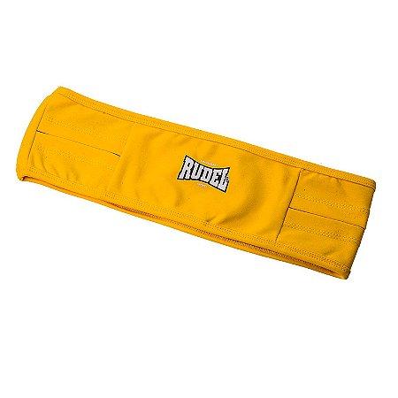 Cinto Esportivo Waist Bag Amarelo Rudel Sports Tamanho GG