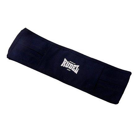 Cinto Esportivo Waist Bag Preto Rudel Sports Tamanho G