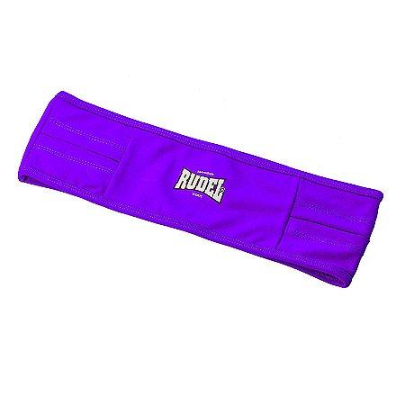 Cinto Esportivo Waist Bag Roxo Rudel Sports Tamanho G