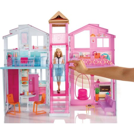 Barbie Real Super Casa 3 Andares DLY32