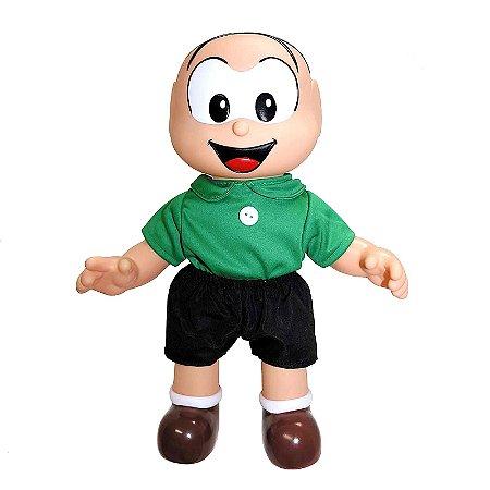 Brinquedo Boneco Turma da Mônica Cebolinha