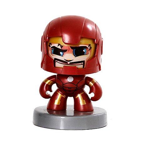 Boneco Homem de Ferro Funko Pop Iron Man Mighty Muggs Vingadores Marvel