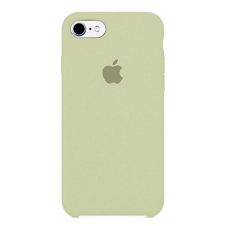Capa Iphone 7/8 Silicone Case Apple Creme