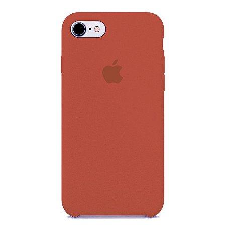 Capa Iphone 7/8 Silicone Case Apple Cereja
