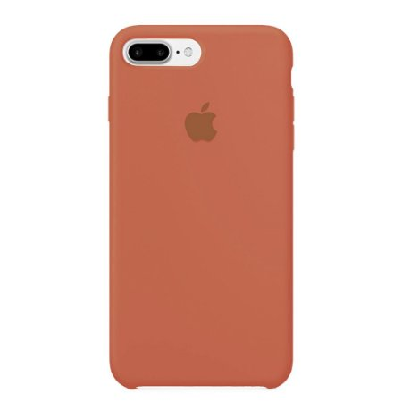 Capa Iphone 7/8 Plus Silicone Case Apple Salmão