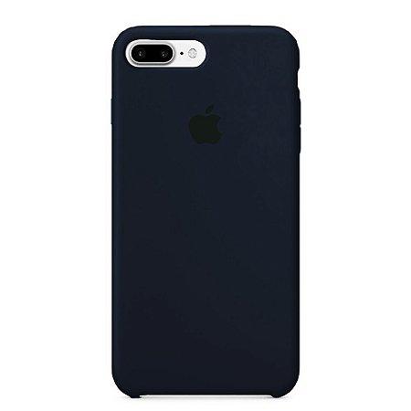 Capa Iphone 7/8 Plus Silicone Case Apple Azul Marinho