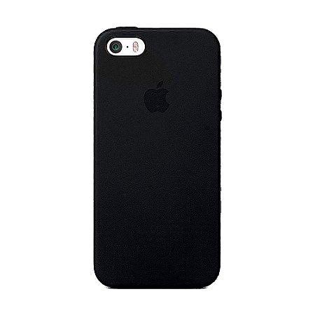Capa Iphone SE Silicone Case Apple Preto