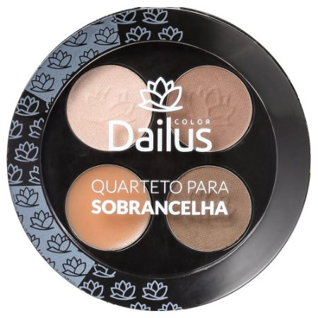 Quarteto Para Sobrancelha - Dailus Color