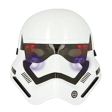 Brinquedo Máscara Star Wars Soldado Stormtrooper LED