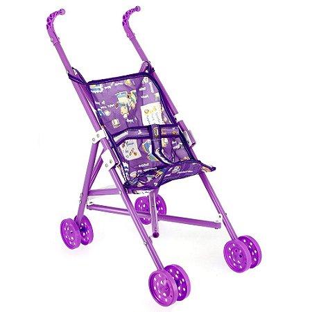 Brinquedo Carrinho De Boneca Dobrável Para Menina Brinquedo Infantil