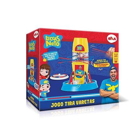 Brinquedo Jogo Tira Varetas Luccas Neto - Eika