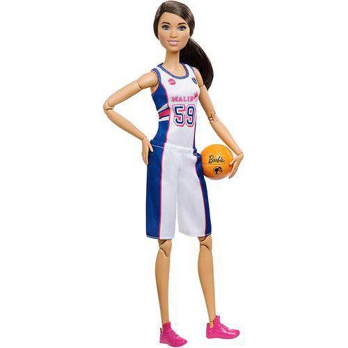 Boneca Barbie Feita Para Mexer Esportista Basquete - Mattel