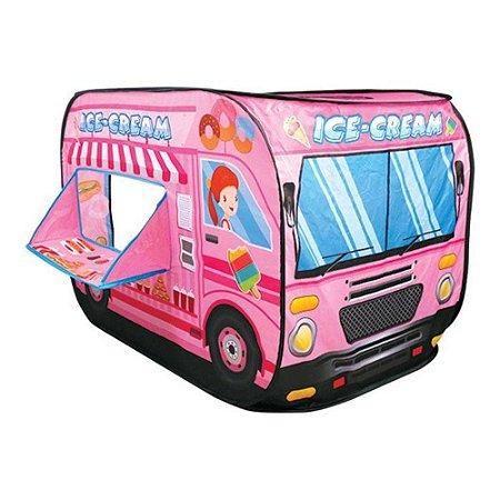 Brinquedo Infantil Caminhão De Sorvete Barraca Sorveteria