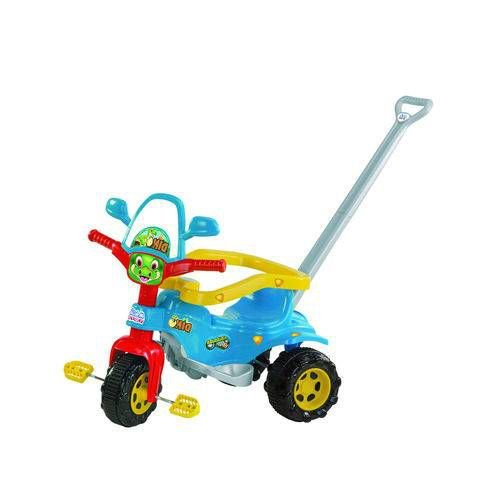 Triciclo Tico- Tico Dino Azul Velotrol Infantil