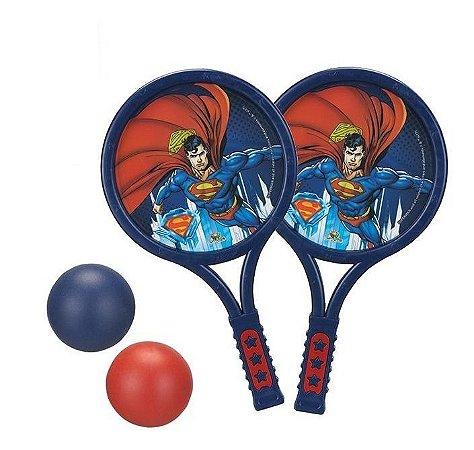 Brinquedo Infantil Superman Raquete Super Homem