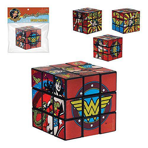 Brinquedo Cubo Mágico Mulher Maravilha Infantil - Art Brink
