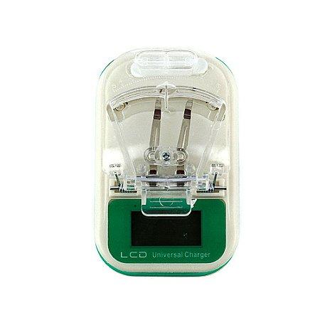 Carregador Universal de Bateria USB Com LCD Seguro CAR-Z7003 - Inova