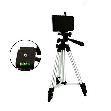 Tripé Universal Para Câmeras E Celulares 100Cm Profissional SPO-8192 - Inova