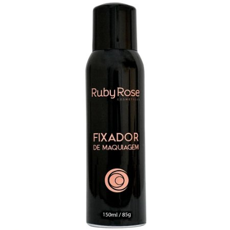 Spray Fixador De Maquiagem Ruby Rose 150ml
