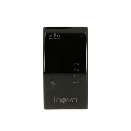 Receptor Repetidor De Wifi Wireless Preto ROU-6002 - Inova