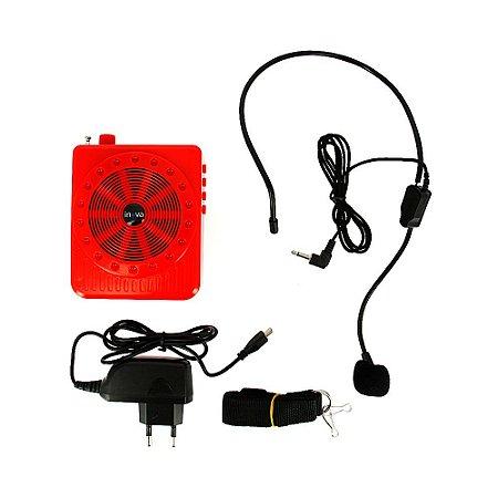 Microfone Telemarketing Multi-função FM Radio - RAD-K150 - Inova