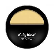 Pó Facial Maquiagem Ruby Rose Cor PC-03 HB-7206
