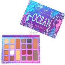 Paleta De Sombras Ocean 22 Cores  - Jasmyne JS0603