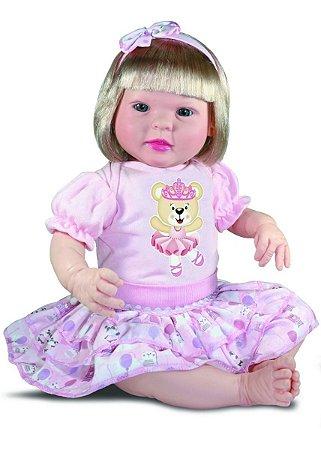 Boneca Bebe Reborn Diandra Cegonha Reborn Dolls 50cm